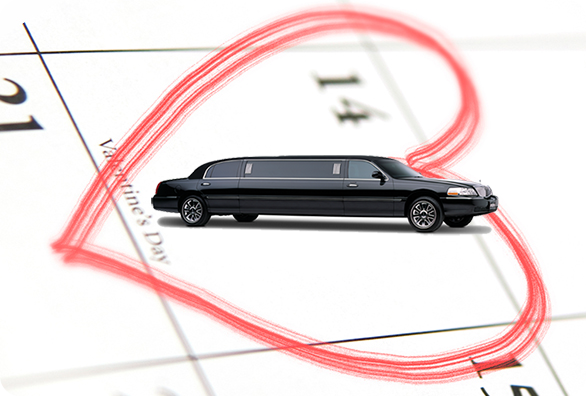 Valentine's Day Limo Rental