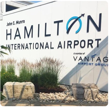 hamilton airport limo departures