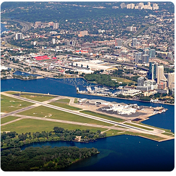 Billy Bishop Island Airport limo and taxi service
